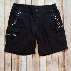 Cargo Shorts - Black